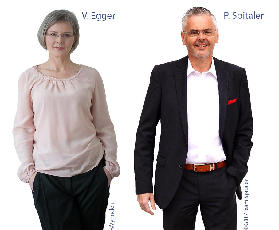 V. Egger und P. Spitaler